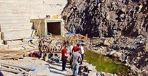 Eldeş Barajı Tamamlanıyor