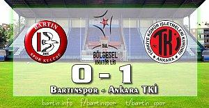 Bartın'da Hakem Rezaleti: 0-1