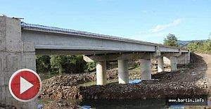 Bartın'ın En Büyük Köprüsü Tamamlanıyor