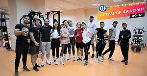 Öğrenciler Müjde! Fitness Salonu Açıldı
