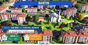 TOKİ'den Bartın'a 300 Yeni Sosyal Konut