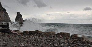 Amasra'da Şiddetli Rüzgar