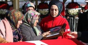 Şehit Miyanyedi'yi Binler Uğurladı