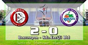 Bartınspor 4'te 4 yaptı: 2-0
