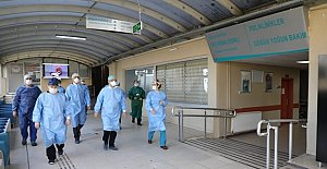 Bartın Pandemi Hastanesi'nde Son Durum
