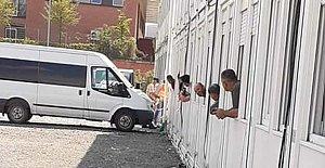 Bartınlı İşçiler konteynerde karantinaya alındı