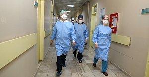 Pandemi Hastanesine Moral Ziyareti