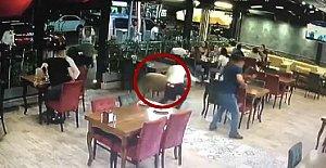 Kurbanlık Koç Restorana Daldı