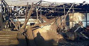 Salyangoz Fabrikasında Patlama: 1 Ölü