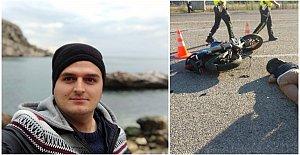 Motosikletli Genç Feci Kazada Öldü