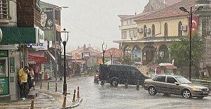 Beklenen Yağmur Etkili Oldu