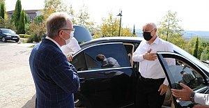 Koronayı Atlatan Prof. Nihat Hatipoğlu Bartın'da
