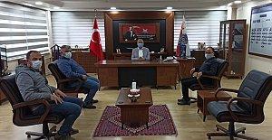 Pedaldaşlardan Bozkuş'a Ziyaret