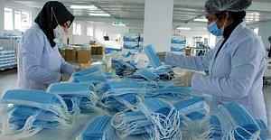 Bartın'dan Günde 300 Bin Maske İhraç Ediyorlar