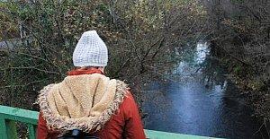 Bartın Irmağı'nda Seyirlik Görüntüler