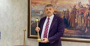 Başkan Akın, Yılın Başkanı Seçildi