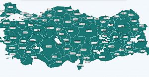 Bartın'da 2 Bin 722 Kişi aşılandı