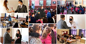 65 Okulda Yüz Yüze Eğitim Başladı