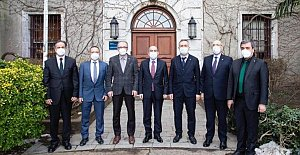 Boğaziçi Üniversitesi Rektörüne Destek Ziyareti