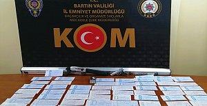 Bartın'da Çek-Senet Operasyonu: 5 Gözaltı