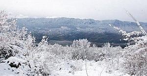 Bartın'ın Zirvelerinde Kar Güzelliği