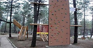 Bölgenin İlk Macera Parkı Açılıyor
