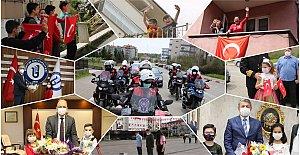 Bartın'da Kısıtlamalara Rağmen Coşkulu Kutlama