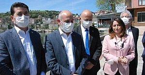 CHP'den Çakır'a Destek Ziyareti