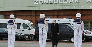 Başkan Erdoğan Zonguldak'ta