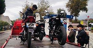 155 Motosiklet Sürücüsüne 133 Bin TL Ceza