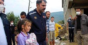 Bartın'da Afet Bölgesine 20 Köy Evi Yapılacak