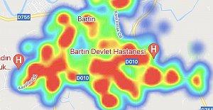 Bartın'da Vaka Sayısında Tehlikeli Artış