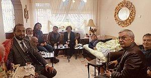 İl Başkanlarından Özçelik'e Geçmiş Olsun Ziyareti