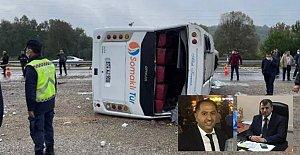 MHP'nin Otobüsü Devrildi: 2 Ölü, 19 Yaralı