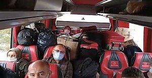Otobüsteki Kestane ve Fındık Çuvallarına Ceza