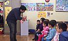 Ana Sınıfı Öğrencilerine Flor Vernik Uygulaması