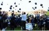 Bartın Üniversitesi'nde mezuniyet coşkusu