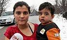 Çocuklarıyla sokakta kalan hamile kadın koruma altında