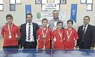 Kolej Takımı Masa Tenisi Turnuvasında Şampiyon Oldu