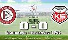 Liderlik Maçında Gol Yok: 0-0