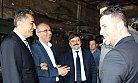 MHP'li Adaylar Sanayi Esnafını Gezdi