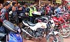 Motosikletlilerden  Farkındalık Eylemi