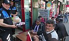 Polis Engellilere Lokum Dağıttı