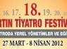 18. Bartın Tiyatro Festivali 27 Mart'ta Başlıyor