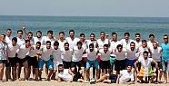 200 Üniversiteli Sporcu Plajda Ter Döktü