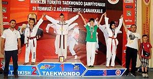 Taekwandoda Bartın'a Bir Madalya Daha