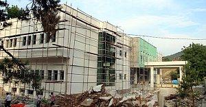 Ulus Devlet Hastanesi Tamamlanmak Üzere