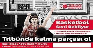 Basketbol Aday Hakem Yetiştirme Kursu Açılıyor