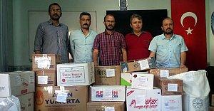 Türk Eğitim Sen'den Artvin'e Yardım Eli