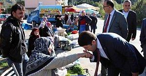 Ak Parti Sahil Köylerine Çıkarma Yaptı